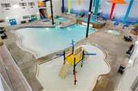 Mariner's Cove Water Park & Wave Pool in the Holiday Inn